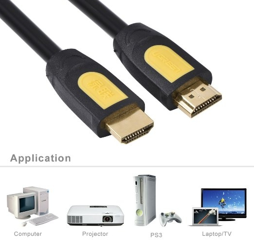Кабель HDMI/HDMI v1.4, Ethernet High speed (0.7 метр)
